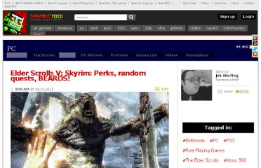 http://www.destructoid.com/elder-scrolls-v-skyrim-perks-random-quests-beards--191262.phtml