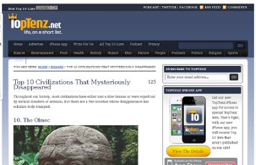 http://www.toptenz.net/top-10-civilizations-that-mysteriously-disappeared.php
