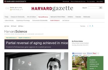 http://news.harvard.edu/gazette/story/2010/11/partial-reversal-of-aging-achieved-in-mice/