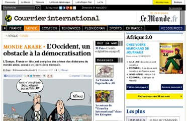 http://www.courrierinternational.com/article/2011/01/20/l-occident-un-obstacle-a-la-democratisation