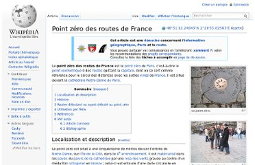 http://fr.wikipedia.org/wiki/Point_z%C3%A9ro_des_routes_de_France