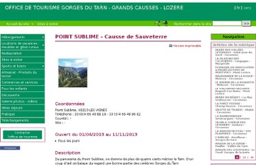 http://www.gorgesdutarn.net/Panorama-du-Point-Sublime-Causse-de-Sauveterre