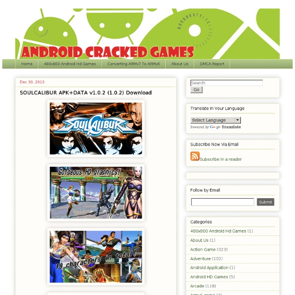 Android cracked Apk games Java