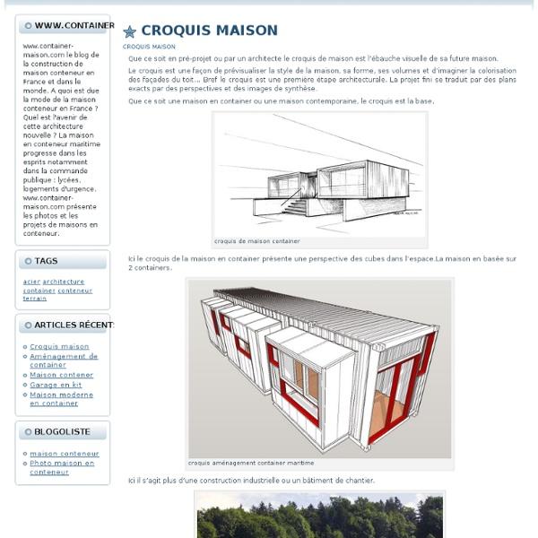 Maison container dans les landes ventana blog for Prix container habitable