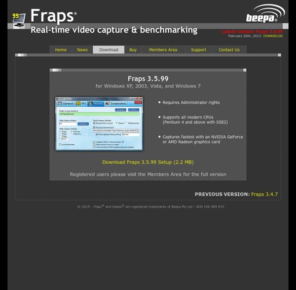 fraps key