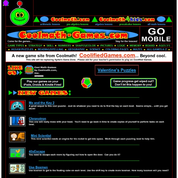Cool Games For Free : Cool math free online games gamesworld