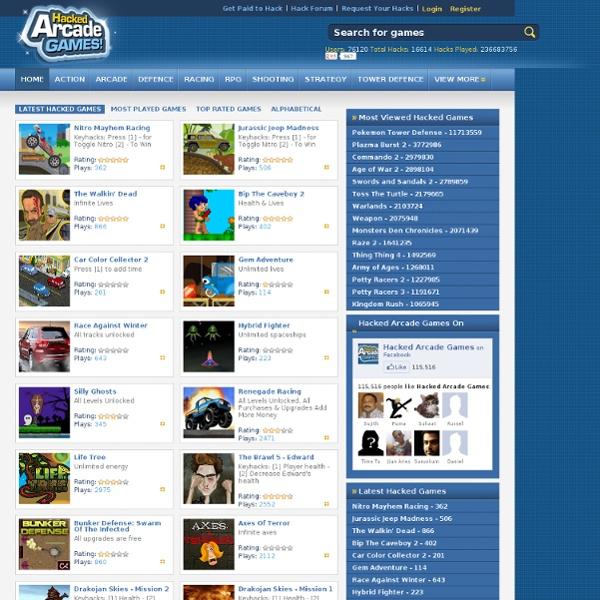 pre hacked arcade games | GamesWorld
