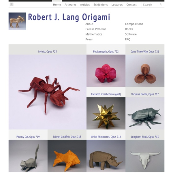 Robert Lang Origami Book