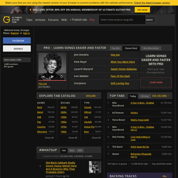 Guitar ukulele tabs guitar pro : 300,000+ Guitar Tabs, Bass Tabs, Chords and Guitar Pro Tabs ...