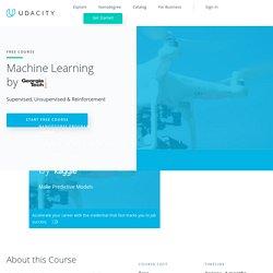 udacity machine learning for trading