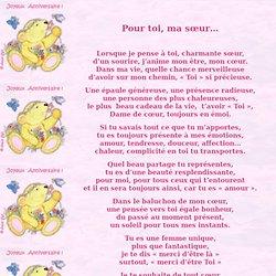 Citation D'Amour Entre Soeur